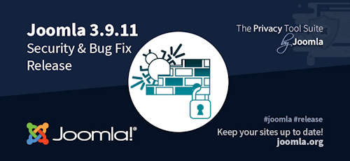 Joomla 3.9.11 erschienen - Security & Bugfix Release
