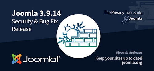 Joomla 3.9.14 erschienen - Security & Bugfix Release