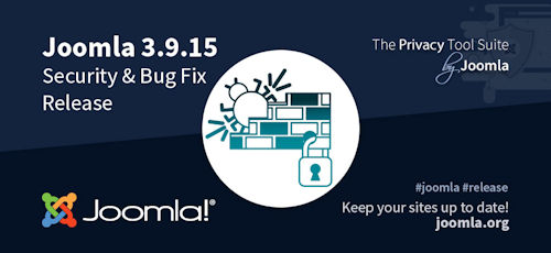 Joomla 3.9.15 erschienen - Security & Bugfix Release